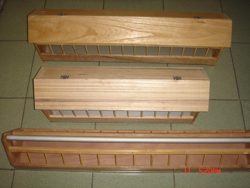 鸽子食槽设计图尺寸