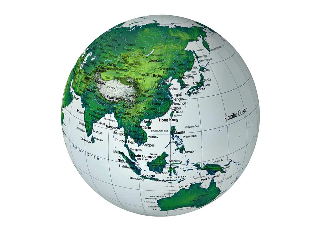 提出地图上绘制经纬度线网的概念
