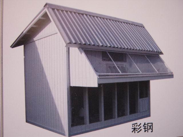 鸽子棚的标准设计图图片