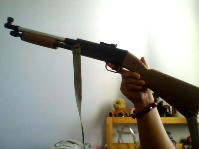 黄河玩具枪m290图片