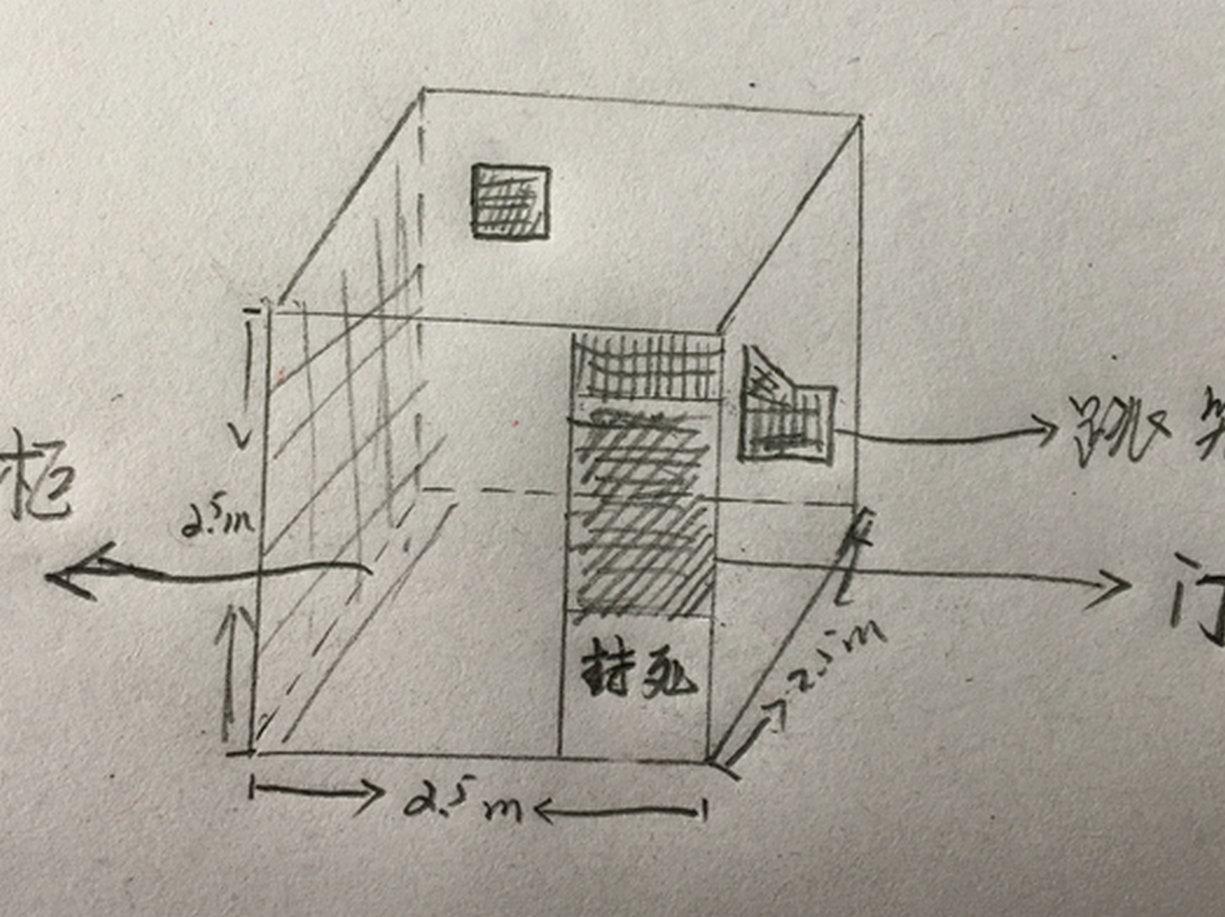 问题一:鸽棚,2.5米*2.5米*2.5米.可以养几只赛鸽,每天早晚两次家飞! 问题二:通风是否有问题?如下图,阴影部份,是网格, 鸽棚,高度2.5米,关于门那一块,门下面,约1米,是实木封死了,上面,1.4米高,全是网格,还有门对面斜对角也开了个通风口,40*60CM.门的右边,是跳笼,也全是网格,这样的设计通用有没问题?